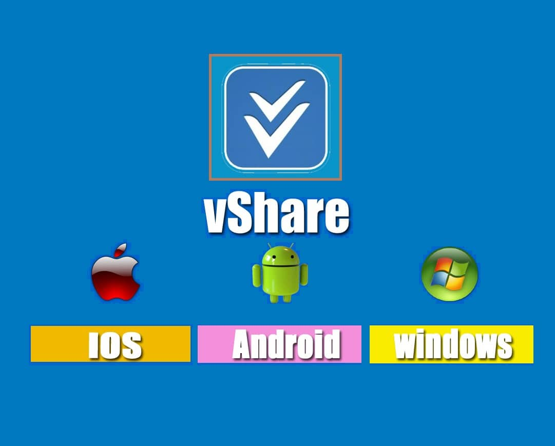 vShare Download for iPhone,iPad,iPod, Android & PC - vShare