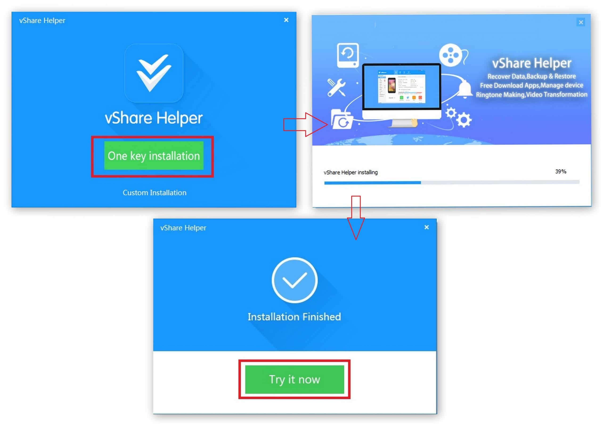 vShare helper - vShare Download for iPhone,iPad,iPod
